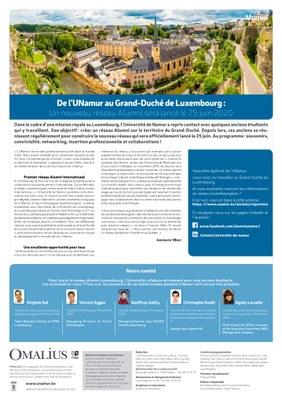 De Namur à Luxembourg : un nouveau réseau Alumni