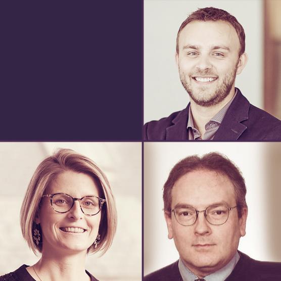 Elise Degrave, Jérémy Dodeigne et Laurent Schumacher