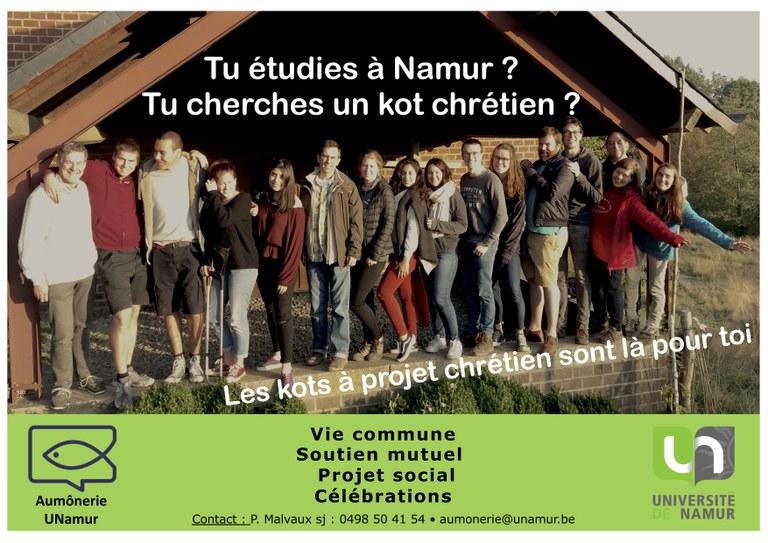 Kots à projet chrétien 2020