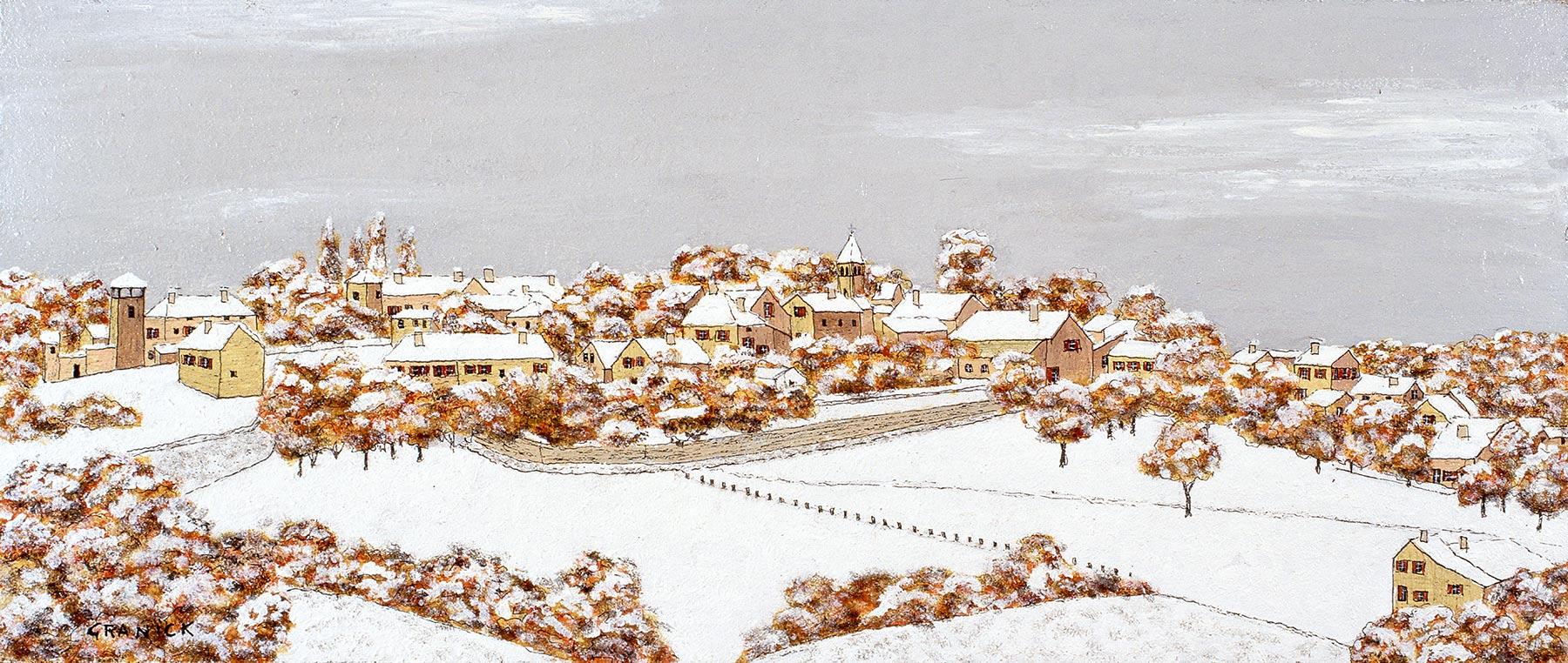 Taizé sous la neige