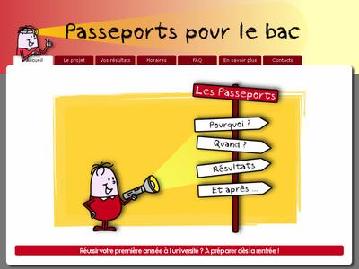 image passeports pour le bac