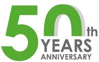 Logo 50 ans fac