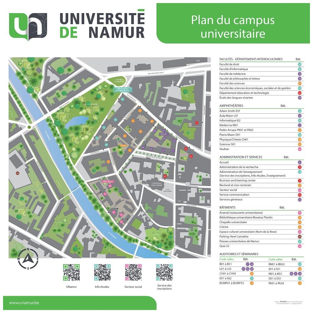 notre dame campus map maplets thumbnail