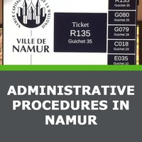 Administrative procedures in Namur