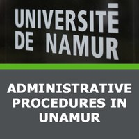 Administrative procedures in UNamur