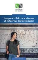 Langues et lettres anciennes et modernes (latin-français)