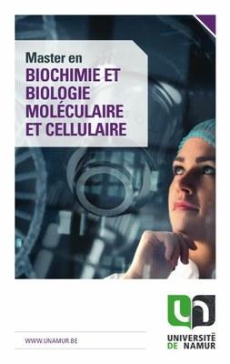 Master en biochimie et biologie moléculaire et cellulaire