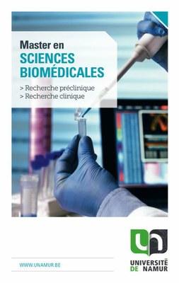 Master en sciences biomédicales