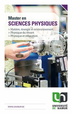 Master en physique
