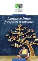 Langues et lettres françaises et romanes
