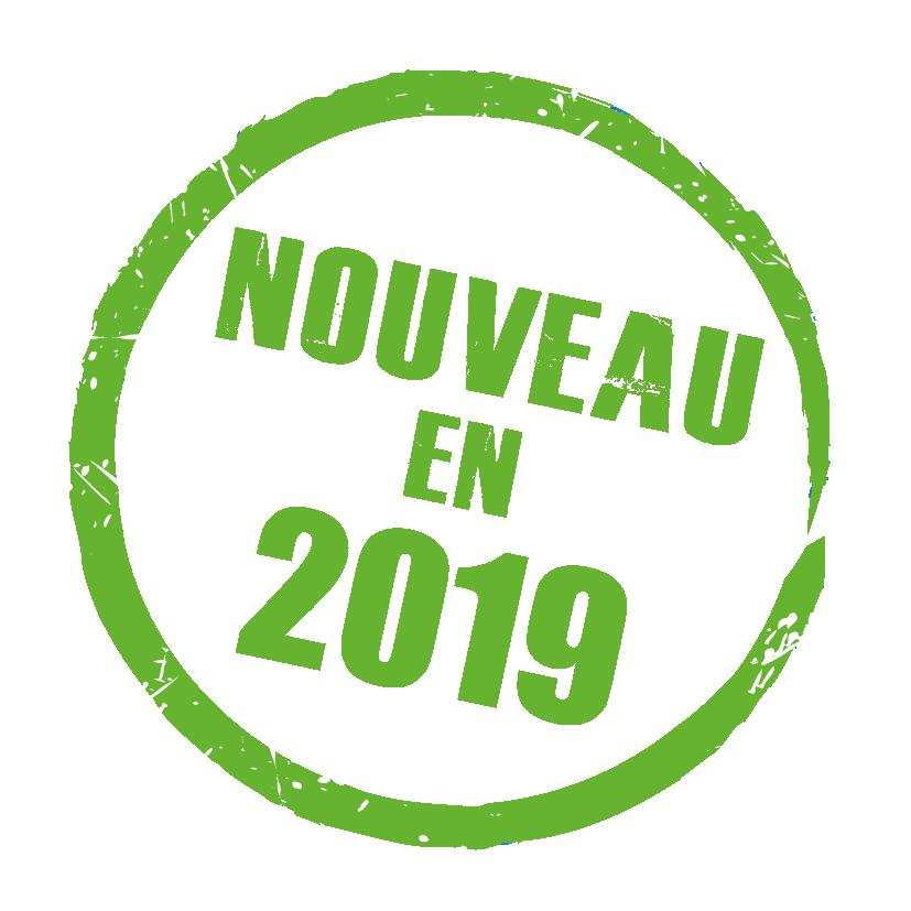 Nouveau en 2019
