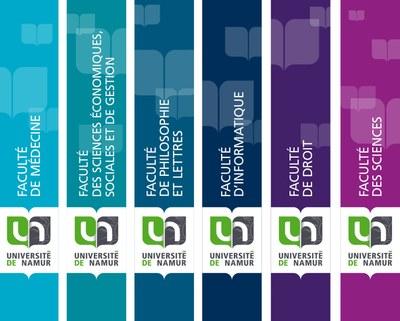 Les six Facultés de l'UNamur