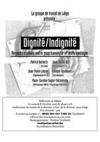 annonce de colloque Dignité/Indignité - 2016