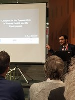 Présentation du Dr Tarek Barakat - BEWARE closing event - Musée Hergé LLN - 27/02/2018