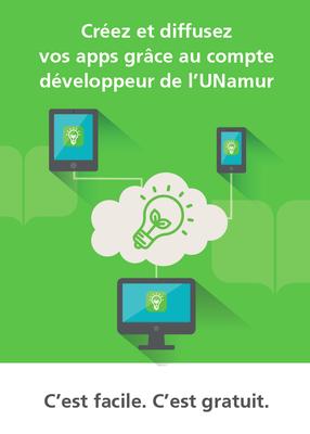 Page 1 brochure UNamur App Dev