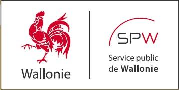 Logo Région Wallonne SPW et Coq