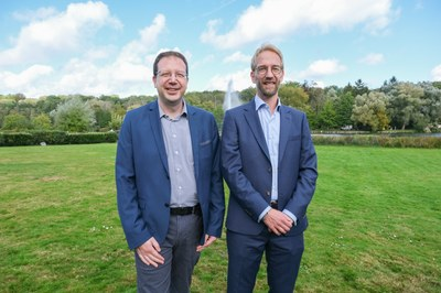 Olivier Van de Vyver et Eric Wyart