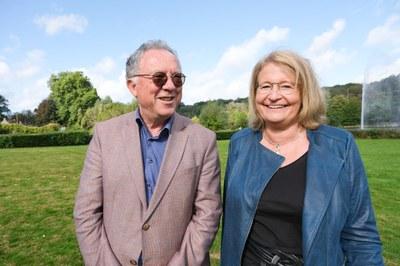 Michel Morant et Nathalie Burteau