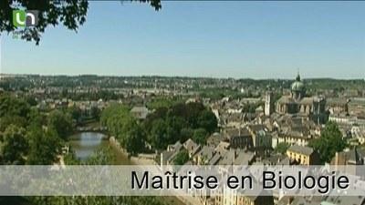 Maîtrise en Biologie - Namur