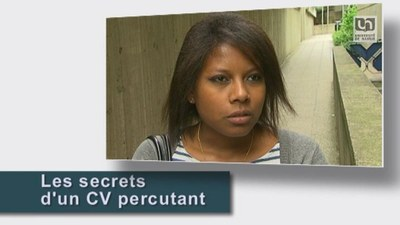 Secrets d'un CV percutant