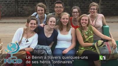 Des étudiants au Bénin - titre