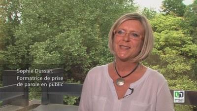 Sophie Dussart, formatrice de prise de parole en public