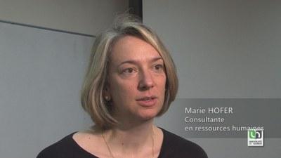 Marie Hofer, consultante en ressources humaines