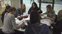 """Les étudiants travaillent en """"équipes cliniques""""."""