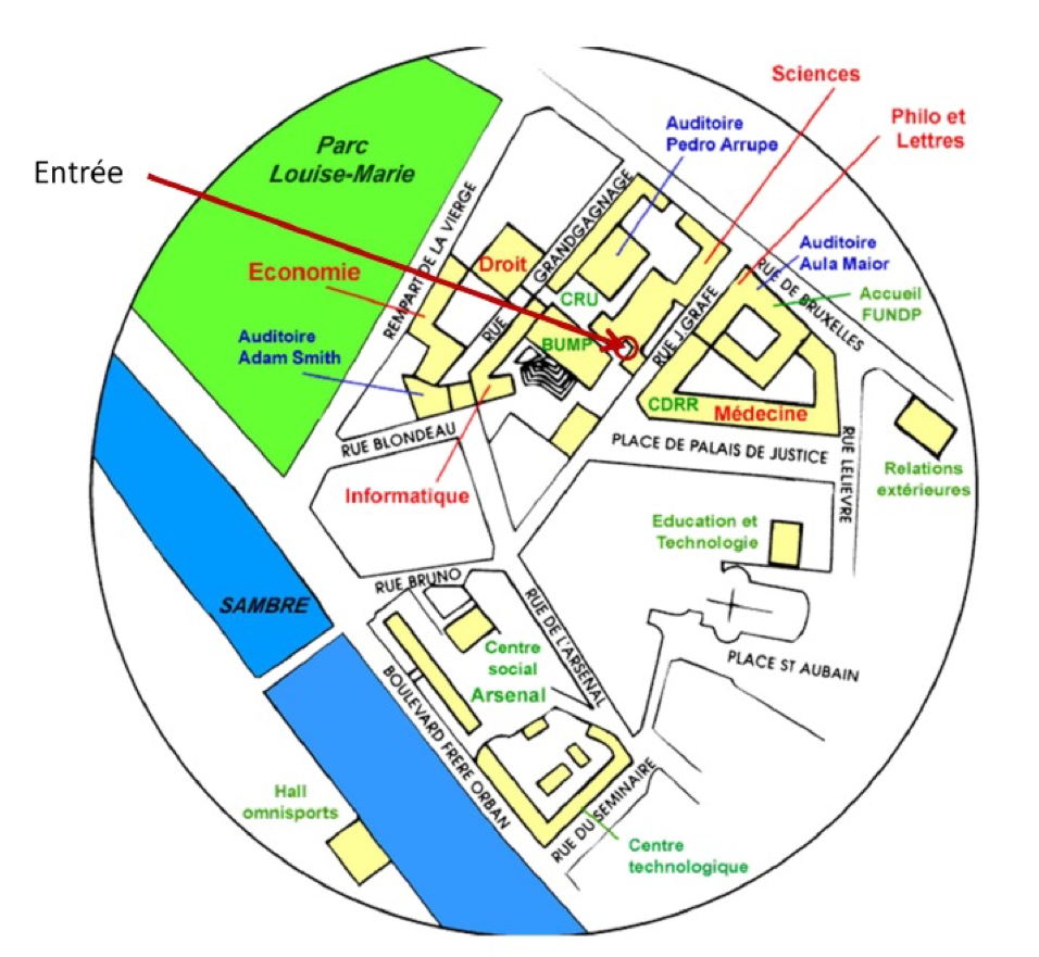 Menu Uco Université De Namur