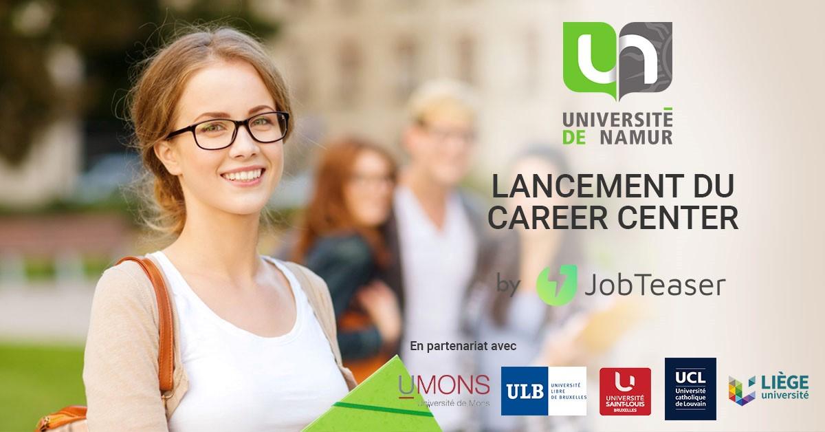 Lancement UNamur Career Center