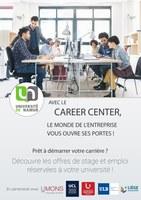 Career Center, le monde de l'entreprise vous ouvre ses portes