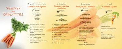 Cuisinez des carottes