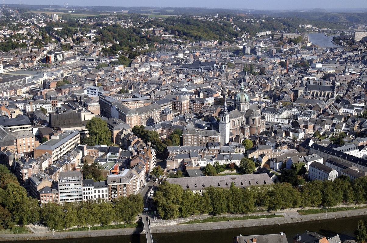 Namur vu du ciel
